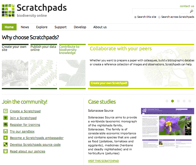 <b>Scratchpads</b> | Marinevre